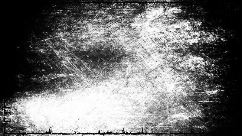 Immagine di sfondo in bianco e nero di struttura di lerciume fotografia stock