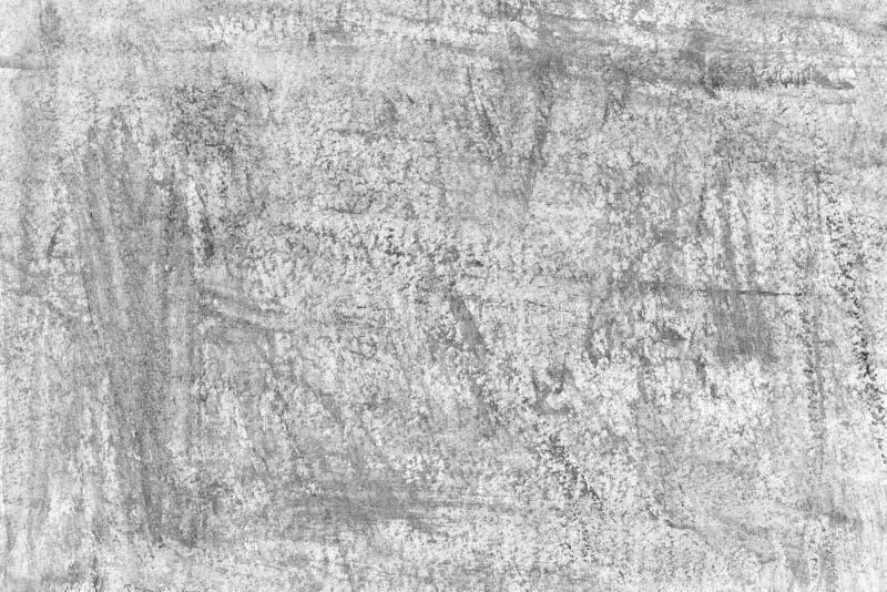 Immagine di sfondo in bianco e nero, struttura Priorità bassa strutturata Pareti decorative del gesso, decorazione esterna della  fotografie stock libere da diritti