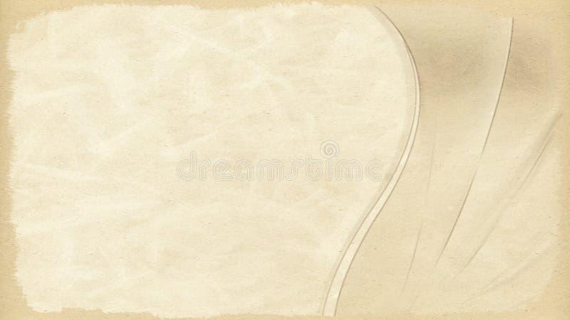 Immagine di sfondo di carta pergamena illustrazione di stock