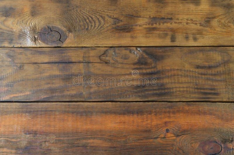 Immagine di sfondo dell'plance di legno marroni wal immagini stock