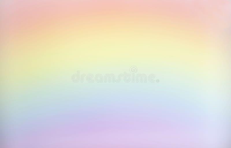 Immagine di sfondo dello spazio in bianco dell'arcobaleno vaga pastello fotografia stock libera da diritti