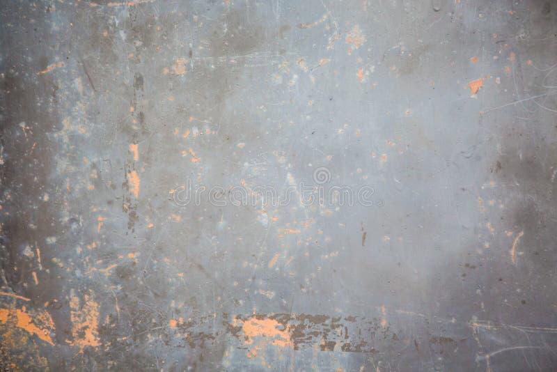 Immagine di sfondo graffiata vecchio metallo immagini stock libere da diritti