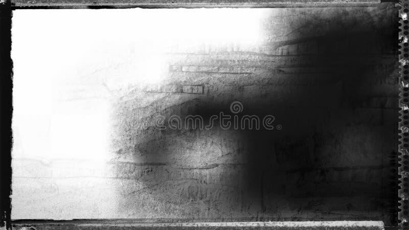 Immagine di sfondo Grungy in bianco e nero fotografia stock