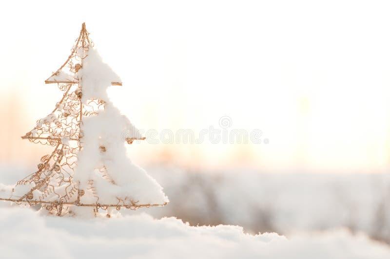 Immagine di sfondo di natale e del nuovo anno fotografia stock libera da diritti