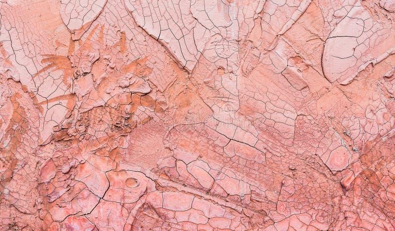 Immagine Di Sfondo Rosa Incrinata Antica Del Muro Di Cemento