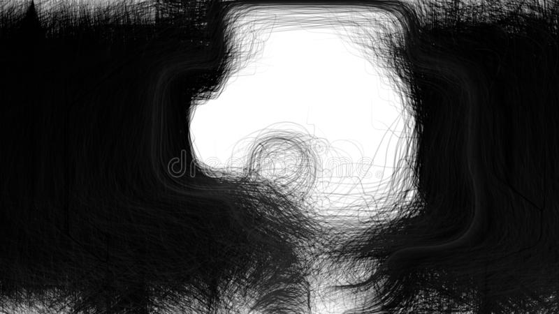 Immagine di sfondo strutturata in bianco e nero fotografie stock