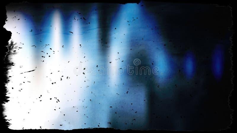 Immagine di sfondo strutturata in bianco e nero blu fotografia stock libera da diritti