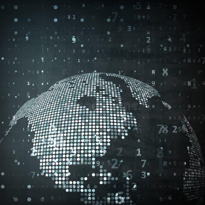 Immagine di tecnologia del globo royalty illustrazione gratis