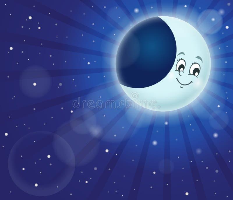 Immagine 2 di tema del cielo notturno illustrazione di stock