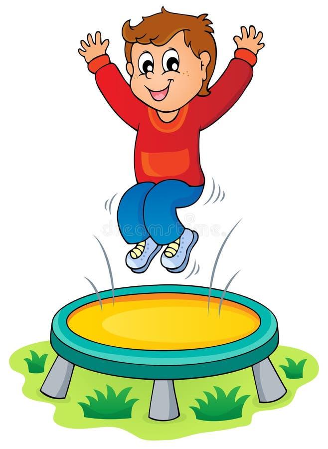 Immagine 3 di tema di divertimento e del gioco illustrazione di stock