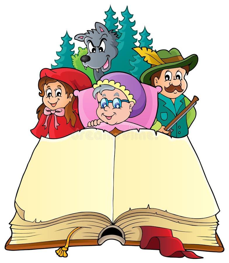 Immagine 3 di tema di fiaba royalty illustrazione gratis