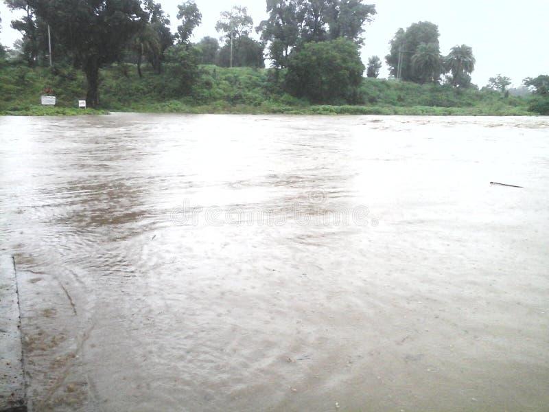 Immagine di un'inondazione fotografia stock libera da diritti