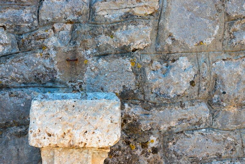 Immagine di una parete di pietra immagine stock libera da diritti