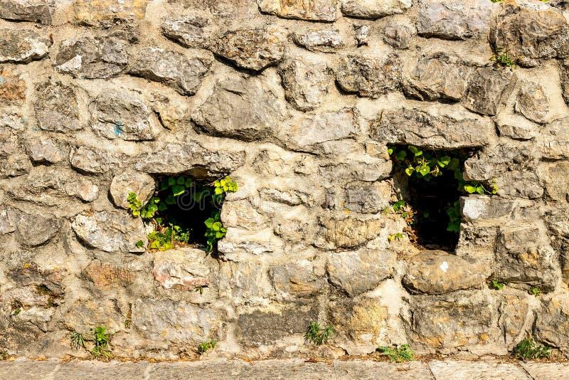 Immagine di una parete di pietra fotografia stock