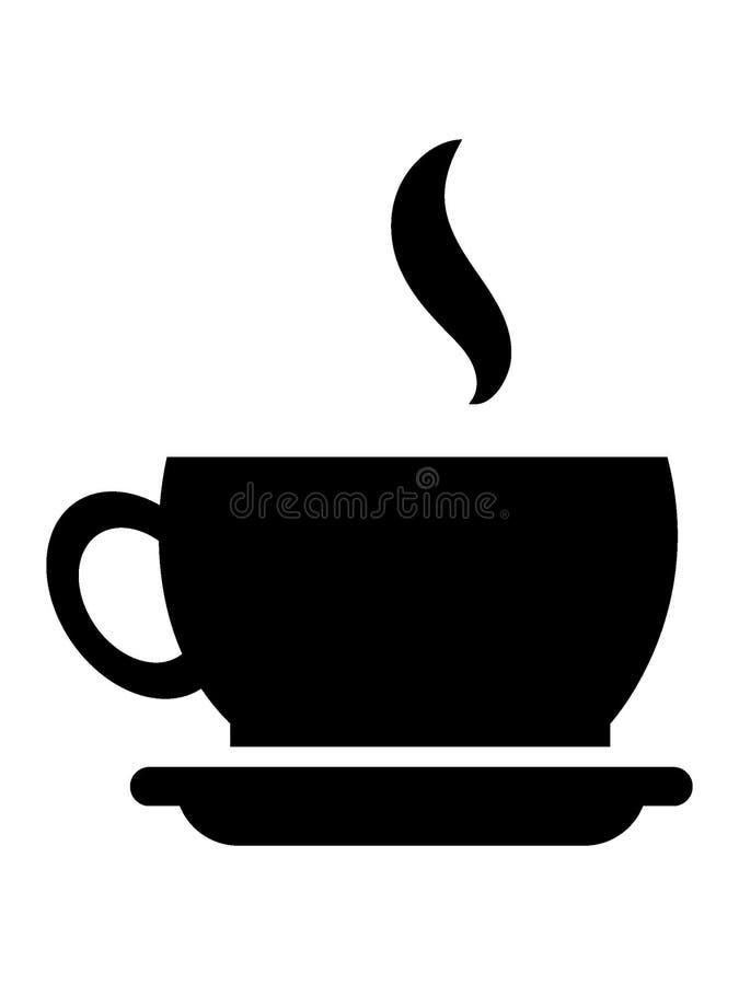 Immagine di una tazza di caffè illustrazione vettoriale