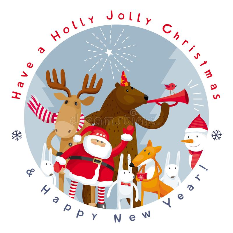 Immagine di vettore di Buon Natale royalty illustrazione gratis