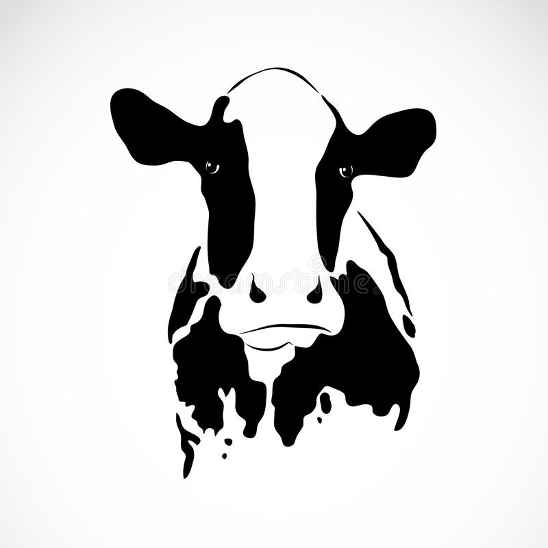 Immagine di vettore di una mucca royalty illustrazione gratis