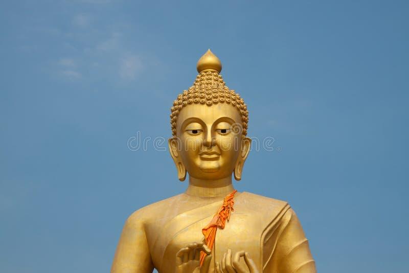 Immagine dorata del buddha immagini stock libere da diritti
