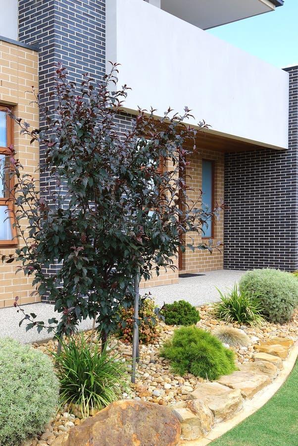 Immagine esteriore di verticale di Victoria Australia di architettura moderna fotografia stock libera da diritti