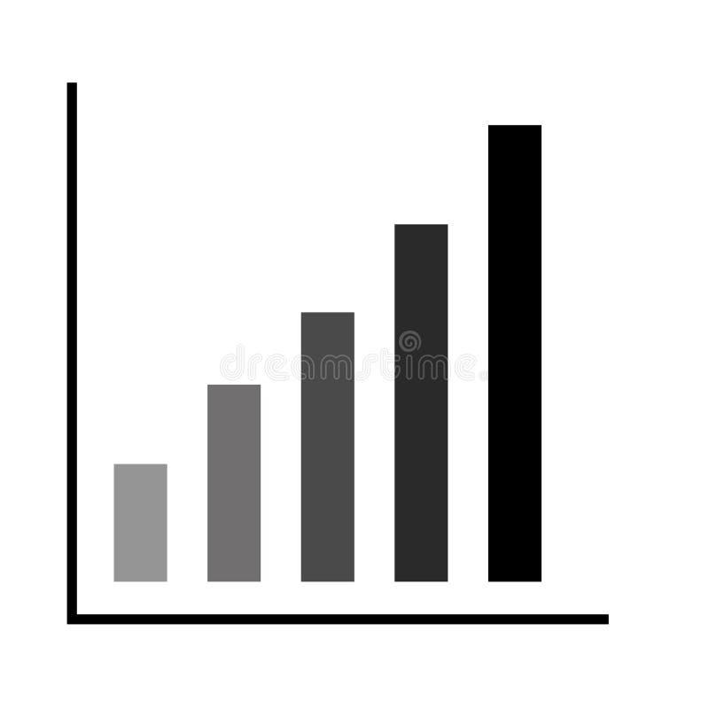 Immagine grafica del grafico illustrazione vettoriale