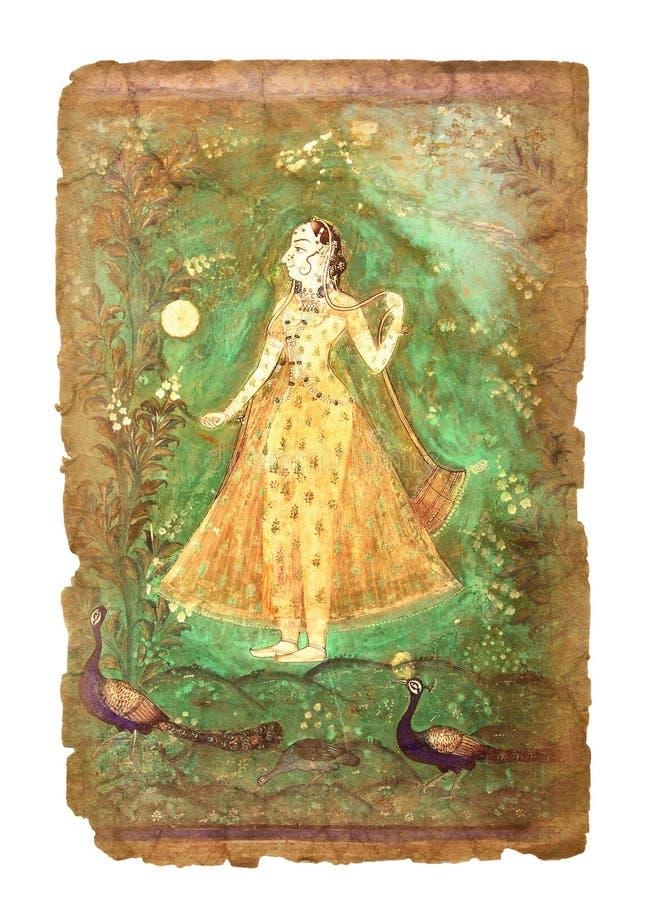 Immagine indiana antica immagini stock