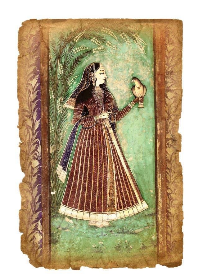 Immagine indiana antica fotografie stock libere da diritti