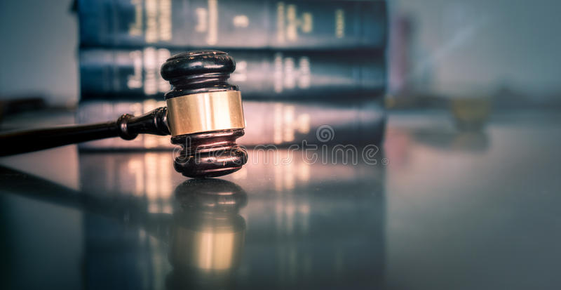 Immagine legale di concetto di legge fotografia stock