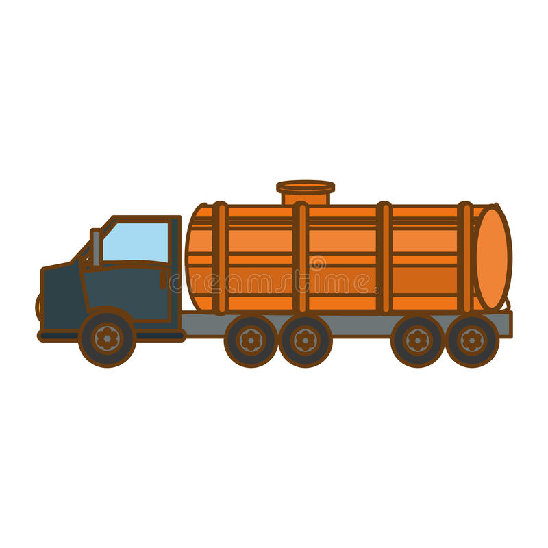 immagine relativa delle icone di industria petrolifera o della benzina illustrazione vettoriale