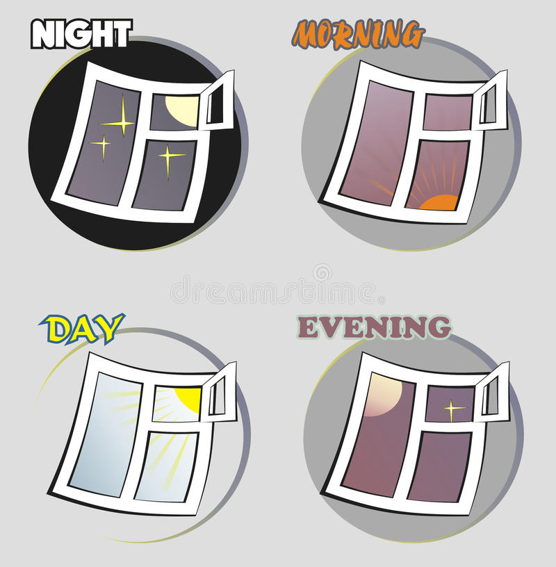 Immagine stilizzata di un'ora quattro royalty illustrazione gratis