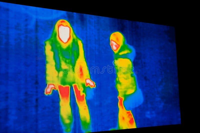Immagine termica fotografia stock libera da diritti