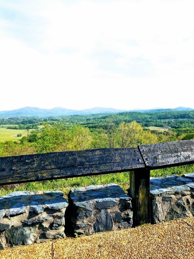 Immagini della montagna fotografia stock