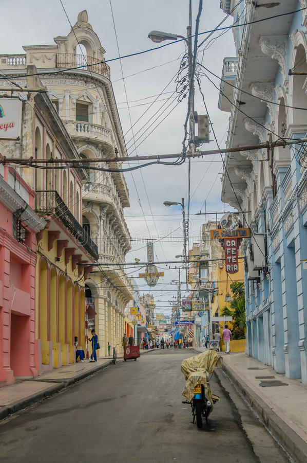 Immagini di Cuba - Santiago de Cuba fotografia stock libera da diritti