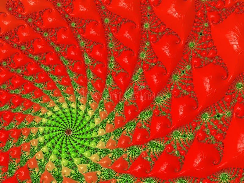 Immagini di frattale multicolori immagini stock