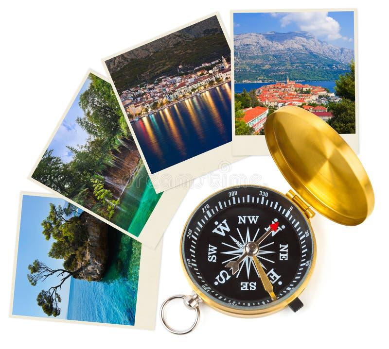 Immagini e bussola del Croatia royalty illustrazione gratis