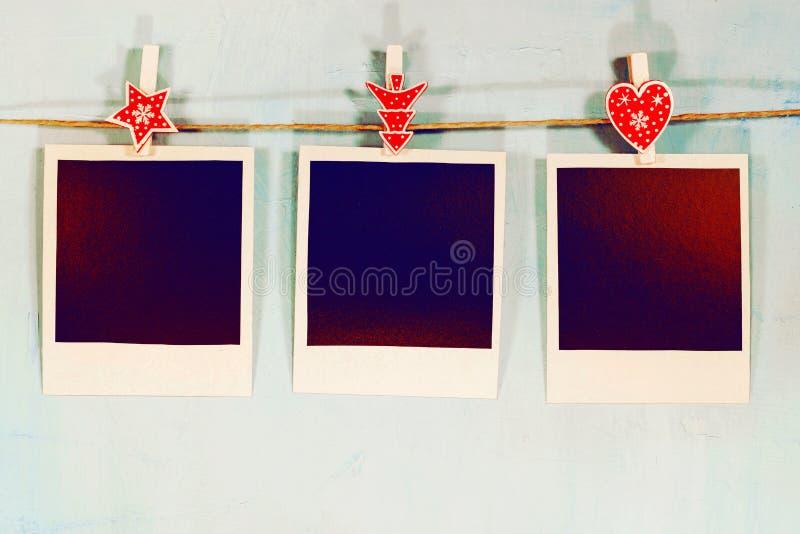Immagini istantanee in bianco fotografie stock