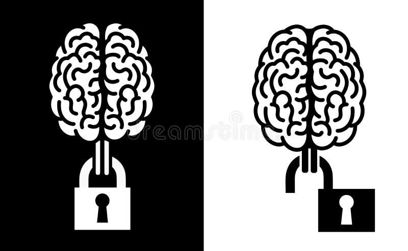 immateriell rättighet vektor illustrationer