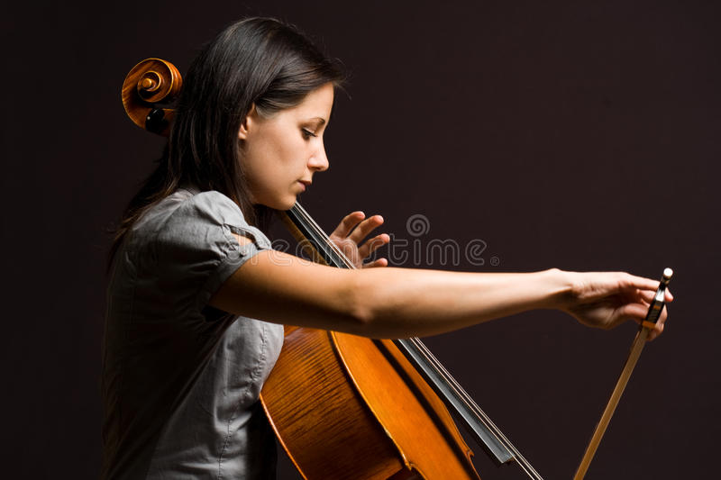 Immersed In Classical Art. Stock Image