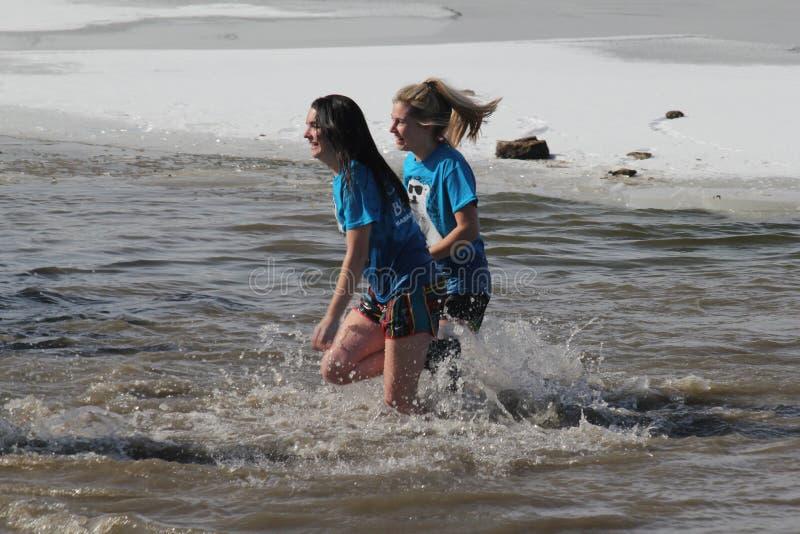 Immersione polare del Nebraska di giochi paraolimpici fotografie stock