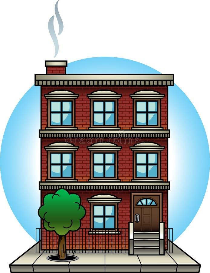 Immeuble illustration libre de droits