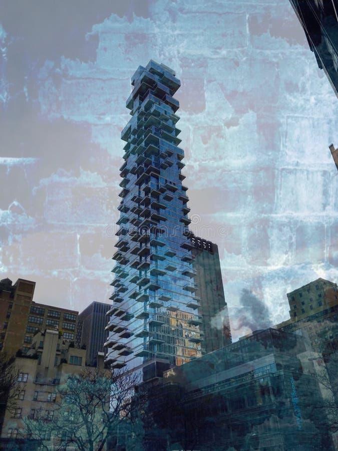 Immeuble de brique image libre de droits