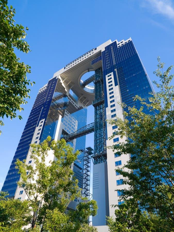 Immeuble de bureaux d'Osaka photos libres de droits