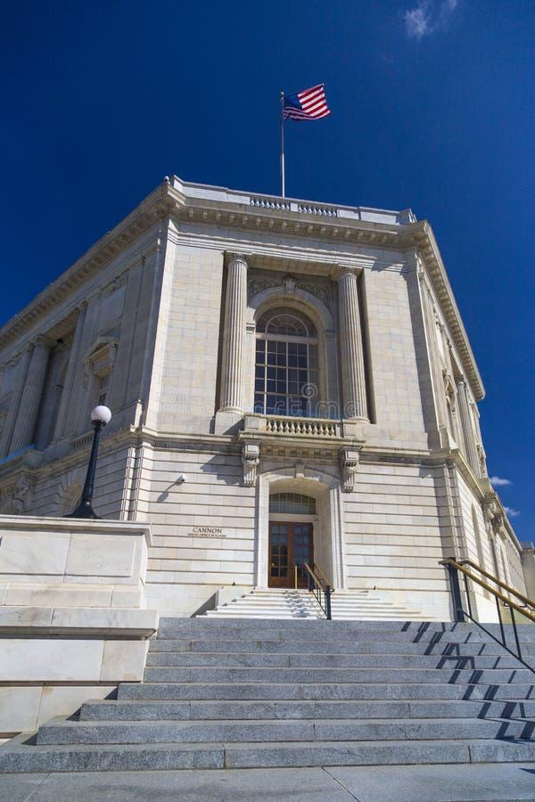 Immeuble de bureaux de Chambre de canon dans le Washington DC images libres de droits