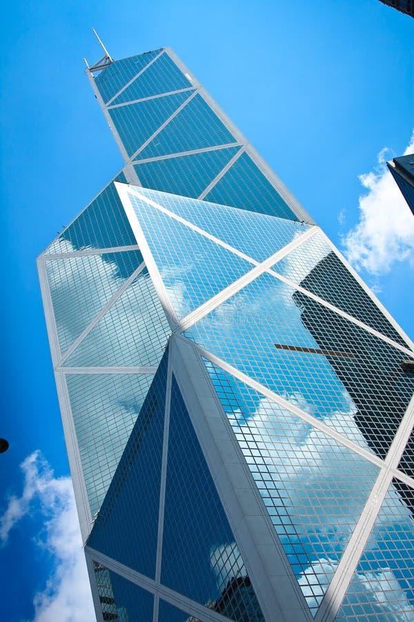 Immeuble de bureaux de Hong Kong photographie stock