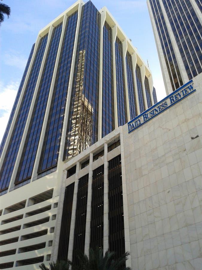 Immeuble de bureaux de Miami photo stock