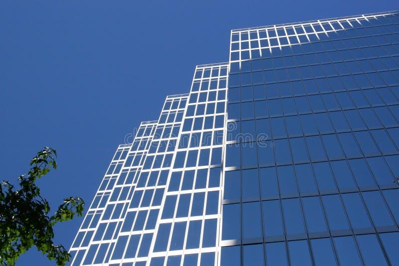 Immeuble de bureaux du centre photographie stock libre de droits
