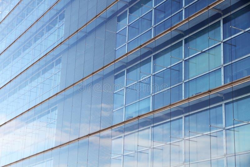 Immeuble de bureaux en acier moderne abstrait photos stock