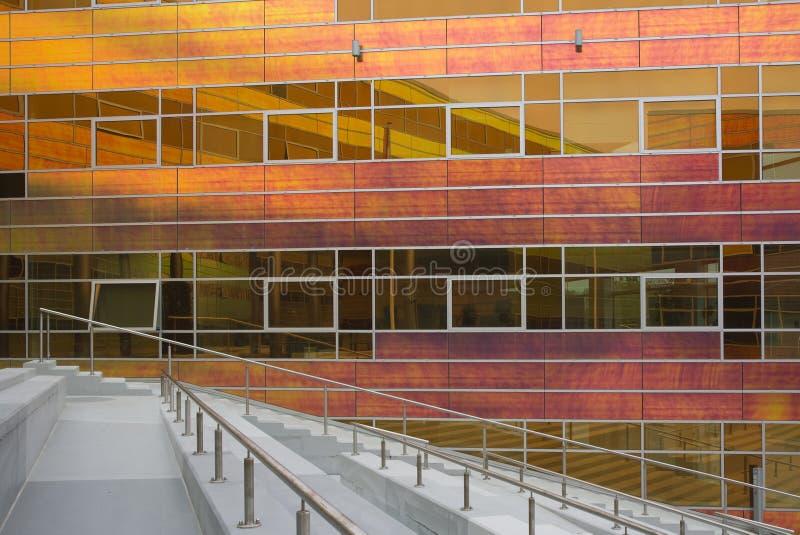 Immeuble de bureaux en verre 1 photo libre de droits