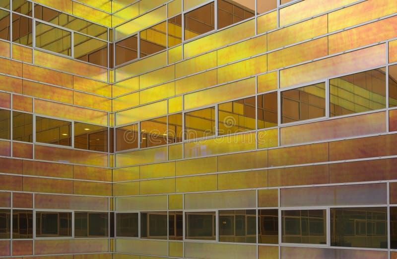 Immeuble de bureaux en verre 5 image libre de droits