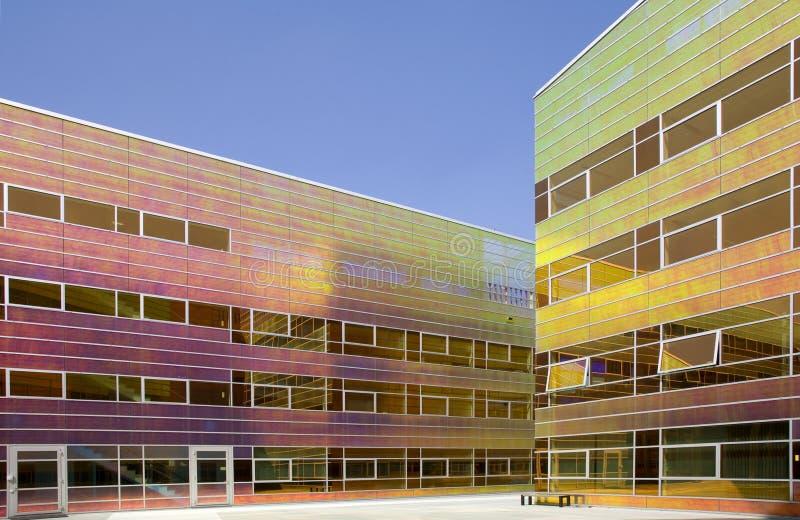 Immeuble de bureaux en verre 6 photo libre de droits