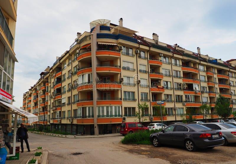 Immeuble de niveau multi, Sofia, Bulgarie images stock